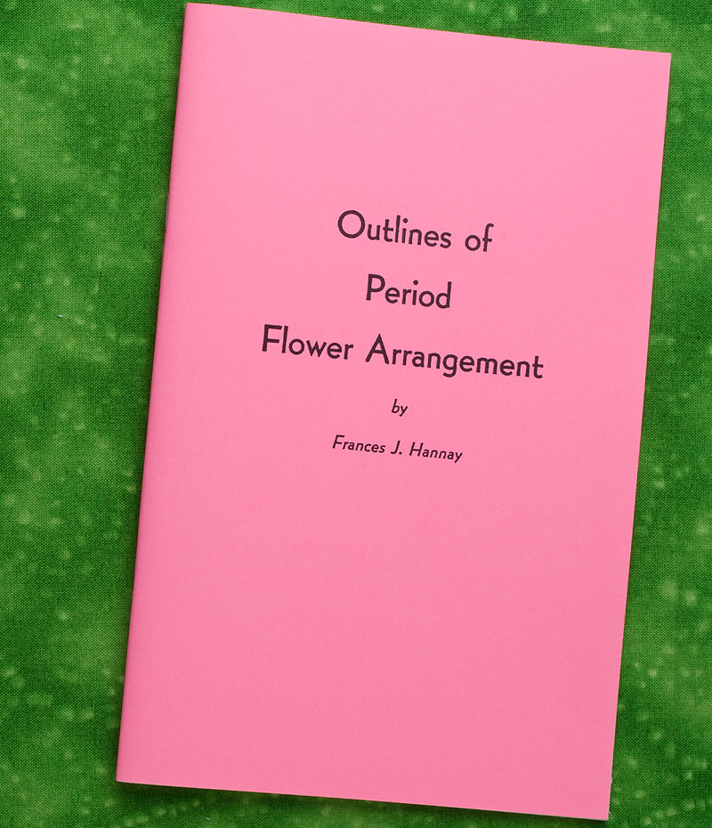 Outlines of Period Flower Arranging