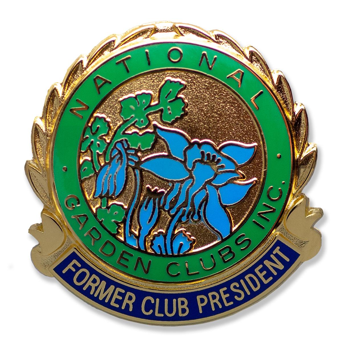 Former Club President Pin