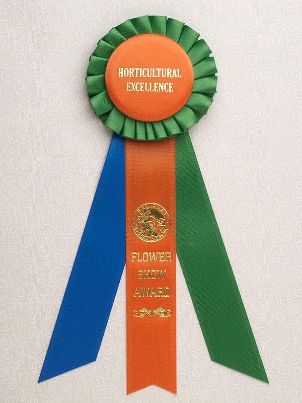 Petite Horticultural Excellence Award Rosette