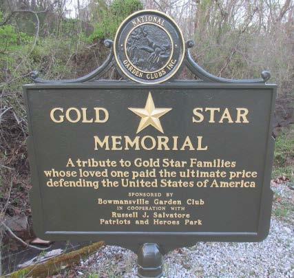 Gold Star Memorial Marker