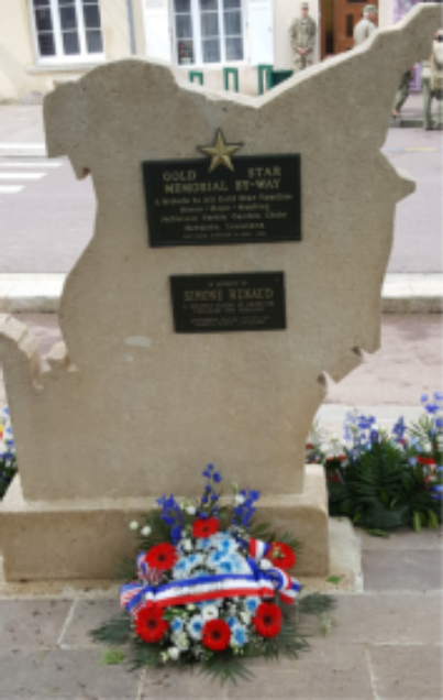 Gold Star Marker in France